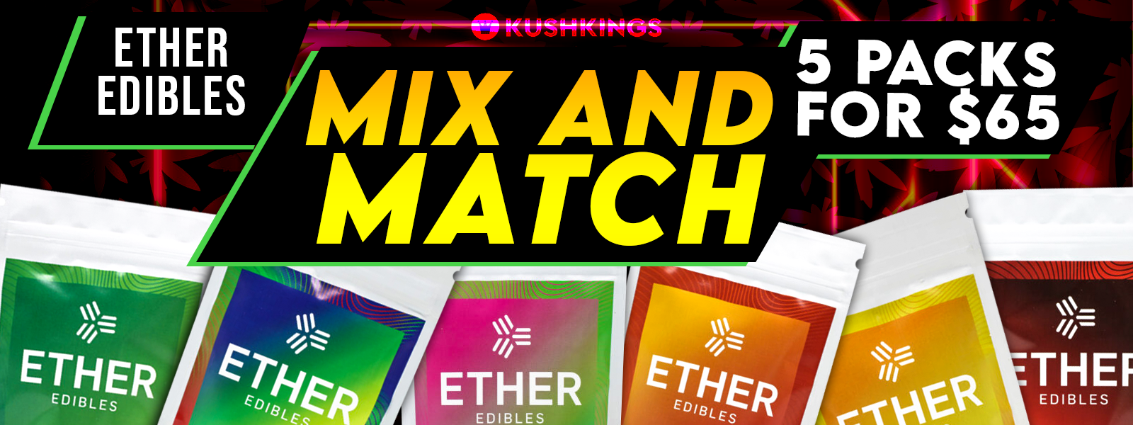 Ether Edibles Mix & Match